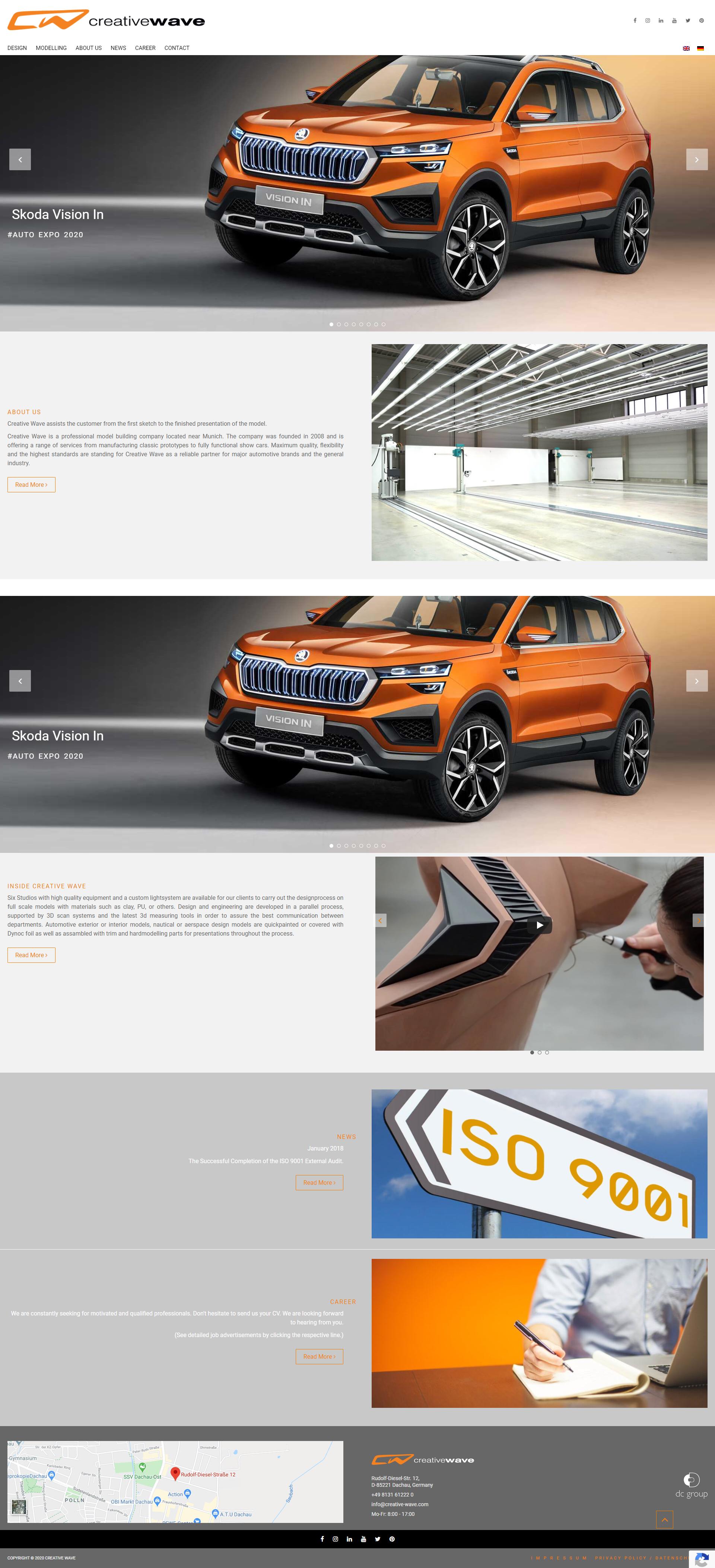 Automobile Website Development Agency Gurgoan India