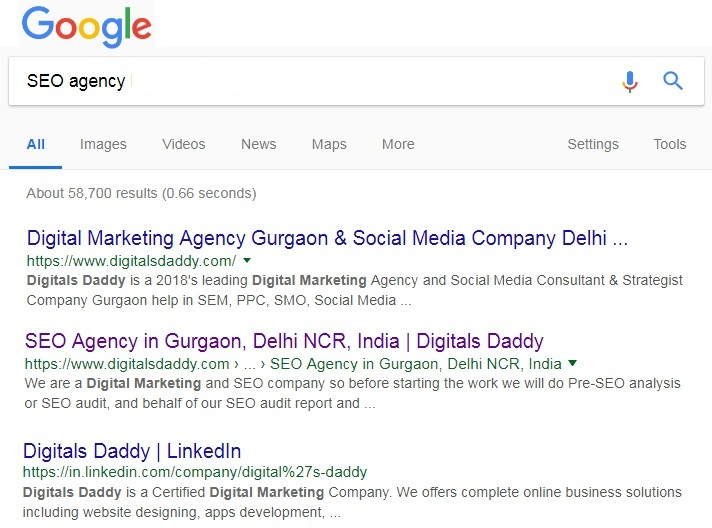 SEO Agency Gurugram, India